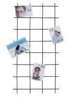 fotokader-metaal-magneetbord-zwart-metaal