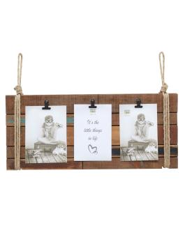 wanddecoratie-hout-fotolijst-in-bruin-hout-met-3-clips